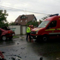 Accident grav la Cernica. 20-05-2017.