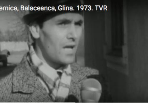 Festivalul filmului la sate. Glina, Balaceanca, Cernica. 1973