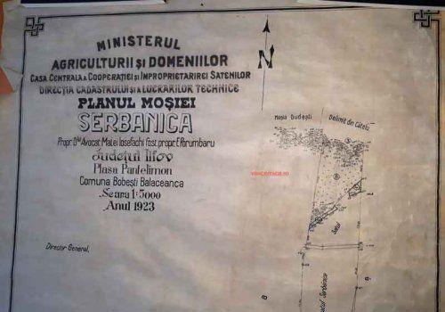 Reforma agrara de la 1921 in satele comunei Cernica. Planurile generale si de detaliu ale improprietaririi satenilor cu loturi de teren.